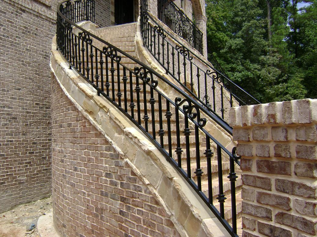 Iron Fence offers you indoor and outdoor stair railings.